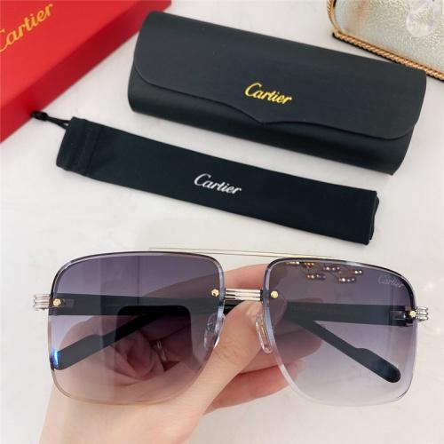Cartier AAA Quality Sunglasses #786370