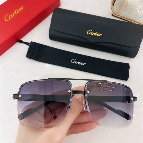 Cartier AAA Quality Sunglasses #786371