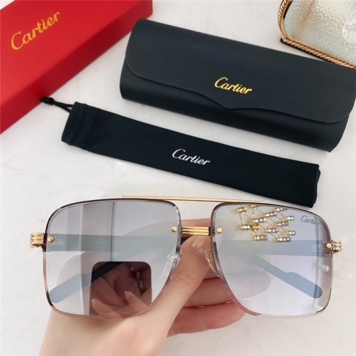 Cartier AAA Quality Sunglasses #786372