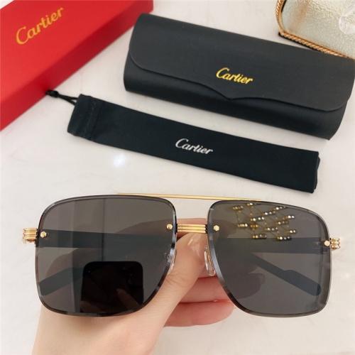 Cartier AAA Quality Sunglasses #786373
