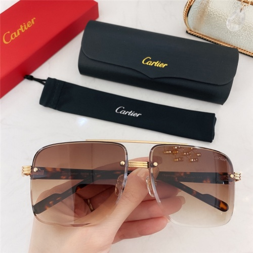 Cartier AAA Quality Sunglasses #786374