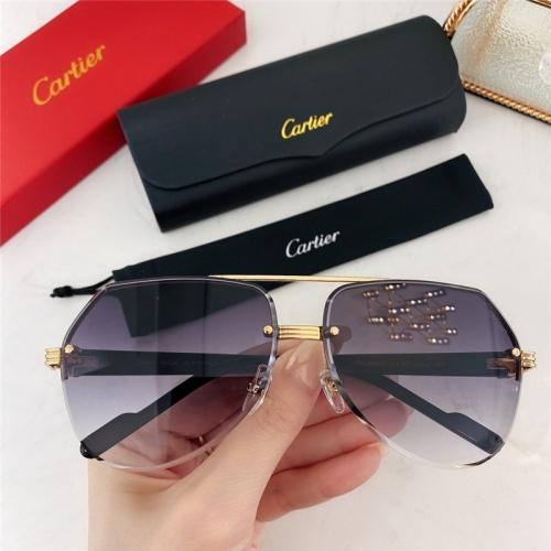 Cartier AAA Quality Sunglasses #786379
