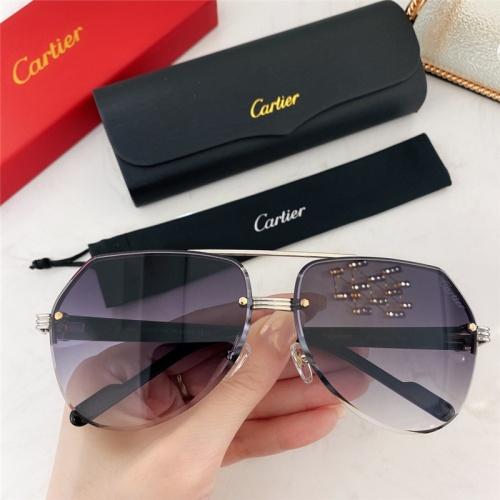 Cartier AAA Quality Sunglasses #786380