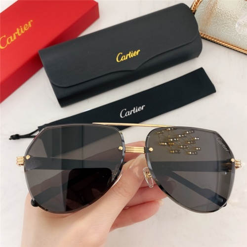 Cartier AAA Quality Sunglasses #786382