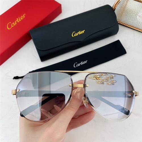 Cartier AAA Quality Sunglasses #786383