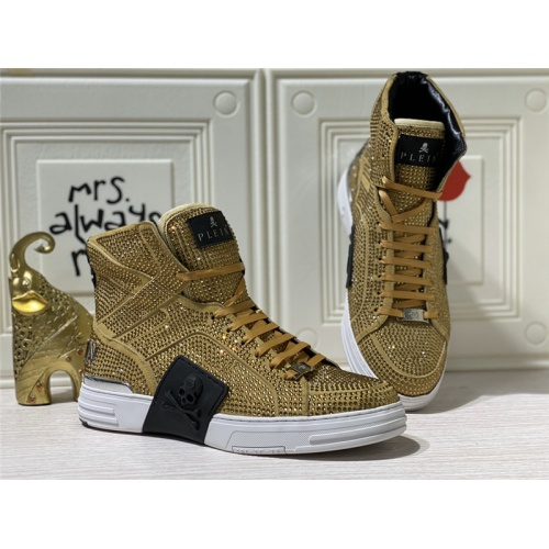 Philipp Plein PP High Tops Shoes For Men #786502