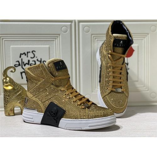 Philipp Plein PP High Tops Shoes For Men #786502