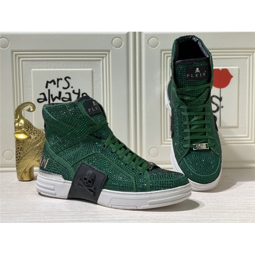 Philipp Plein PP High Tops Shoes For Men #786503