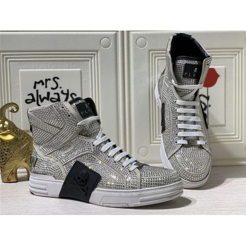 Philipp Plein PP High Tops Shoes For Men #786504