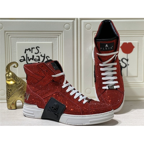 Philipp Plein PP High Tops Shoes For Men #786505