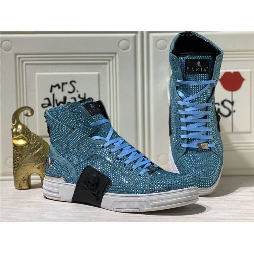 Philipp Plein PP High Tops Shoes For Men #786506