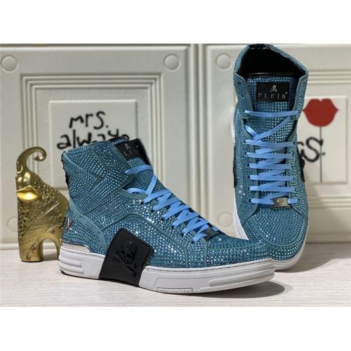 Philipp Plein PP High Tops Shoes For Men #786506