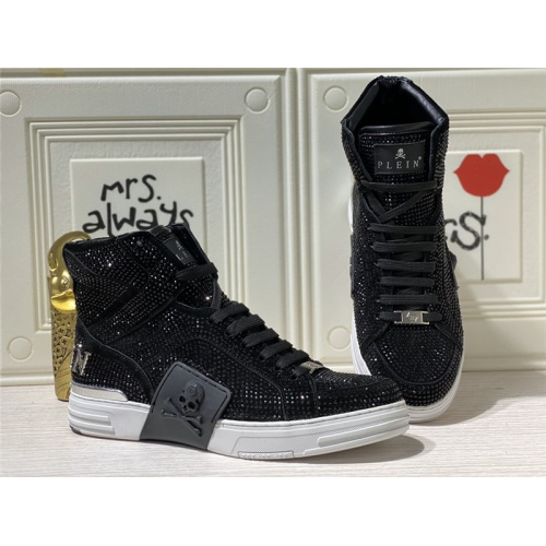 Philipp Plein PP High Tops Shoes For Men #786507