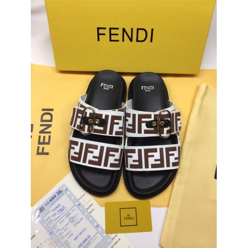 Fendi Slippers For Men #786548
