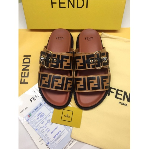 Fendi Slippers For Women #786551
