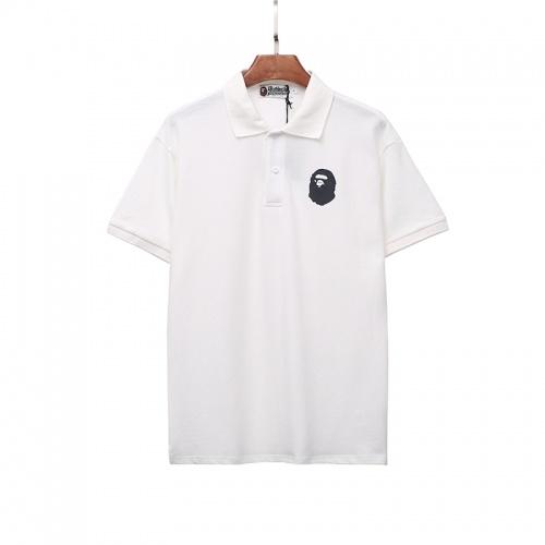 Bape T-Shirts Short Sleeved Polo For Men #786733