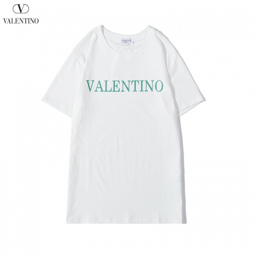 Valentino T-Shirts Short Sleeved O-Neck For Men #786899 $24.25, Wholesale Replica Valentino T-Shirts