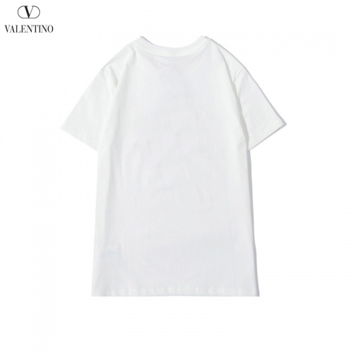 Replica Valentino T-Shirts Short Sleeved O-Neck For Men #786899 $24.25 USD for Wholesale