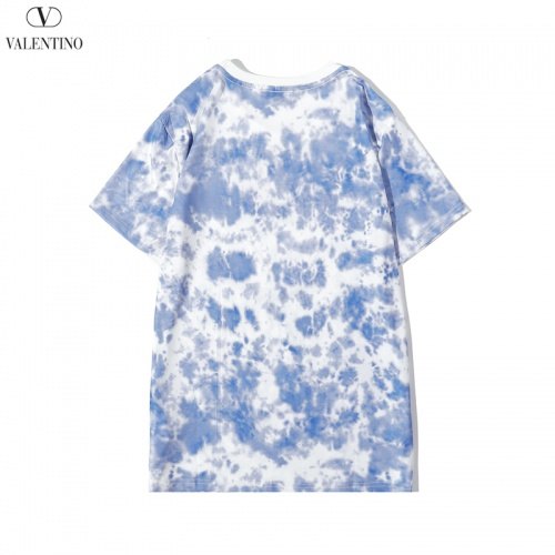 Replica Valentino T-Shirts Short Sleeved O-Neck For Men #786901 $28.13 USD for Wholesale