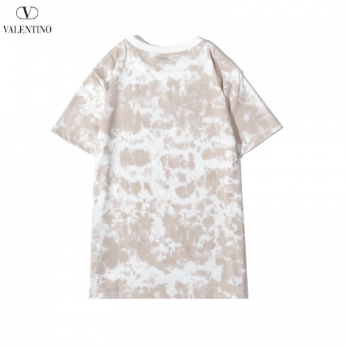 Replica Valentino T-Shirts Short Sleeved O-Neck For Men #786902 $28.13 USD for Wholesale
