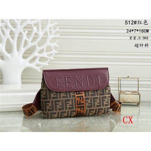 Fendi Fashion Messenger Bags #786923 $32.98, Wholesale Replica Fendi Messenger Bags