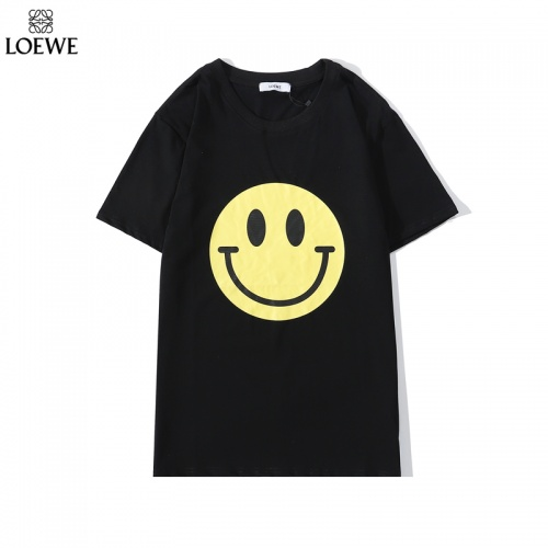 LOEWE T-Shirts Short Sleeved O-Neck For Men #786925 $26.19 USD, Wholesale Replica LOEWE T-Shirts