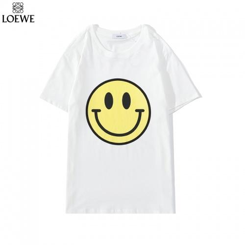 LOEWE T-Shirts Short Sleeved O-Neck For Men #786926 $26.19 USD, Wholesale Replica LOEWE T-Shirts