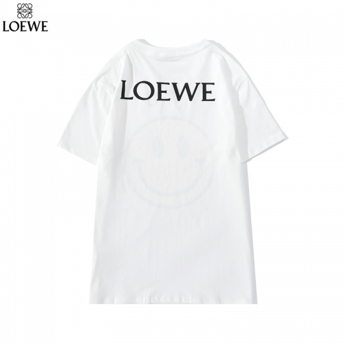 Replica LOEWE T-Shirts Short Sleeved O-Neck For Men #786926 $26.19 USD for Wholesale