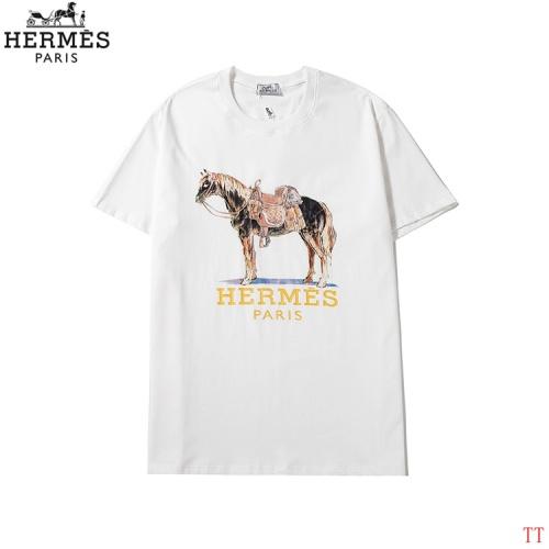 Hermes T-Shirts Short Sleeved O-Neck For Men #786958