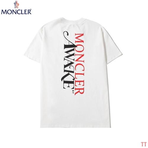 Moncler T-Shirts Short Sleeved O-Neck For Men #786981