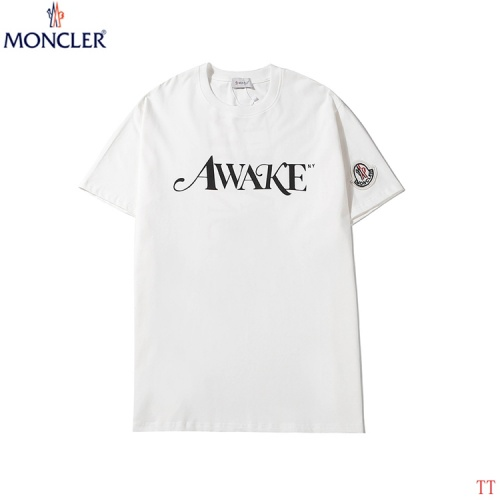 Replica Moncler T-Shirts Short Sleeved O-Neck For Men #786981 $26.19 USD for Wholesale