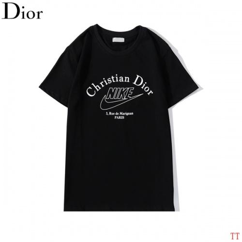 Christian Dior T-Shirts Short Sleeved O-Neck For Men #786985