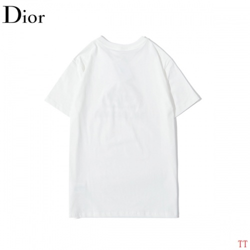 Replica Christian Dior T-Shirts Short Sleeved O-Neck For Men #786986 $24.25 USD for Wholesale