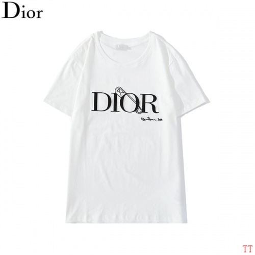 Christian Dior T-Shirts Short Sleeved O-Neck For Men #786990