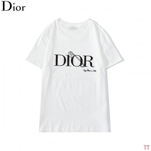 Christian Dior T-Shirts Short Sleeved O-Neck For Men #786990