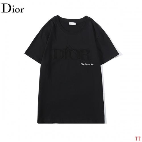 Christian Dior T-Shirts Short Sleeved O-Neck For Men #786991