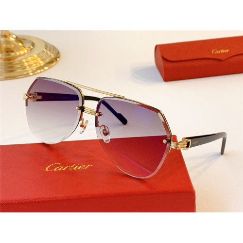 Cartier AAA Quality Sunglasses #787032