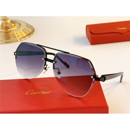 Cartier AAA Quality Sunglasses #787033