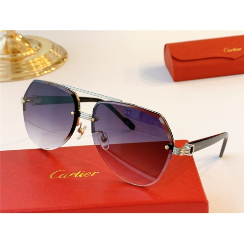 Cartier AAA Quality Sunglasses #787034