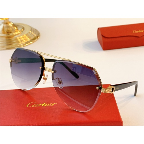 Cartier AAA Quality Sunglasses #787035