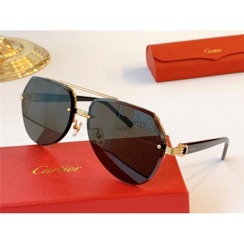 Cartier AAA Quality Sunglasses #787036