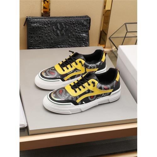 Versace Casual Shoes For Men #787175 $73.72 USD, Wholesale Replica Versace Casual Shoes