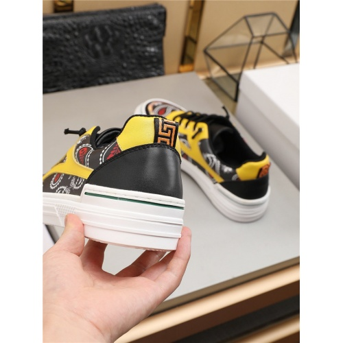 Replica Versace Casual Shoes For Men #787175 $73.72 USD for Wholesale