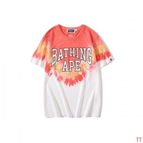 Bape T-Shirts Short Sleeved O-Neck For Men #787237