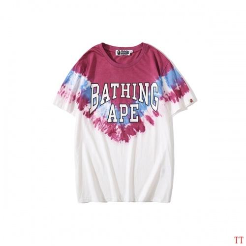 Bape T-Shirts Short Sleeved O-Neck For Men #787238
