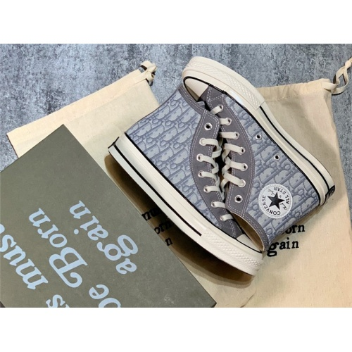 Christian Dior & Converse High Tops Shoes For Women #787244