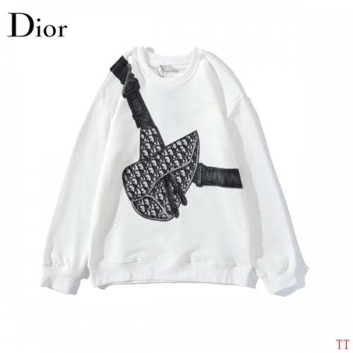 Christian Dior Hoodies Long Sleeved O-Neck For Men #787247