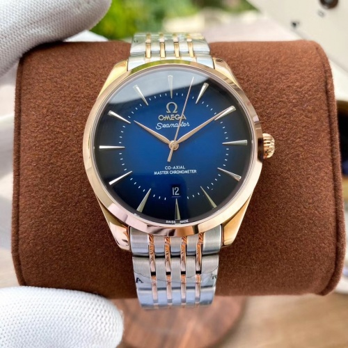 Replica OMEGA AAA Quality Watches In 40*12mm For Men #787325 $185.27 USD for Wholesale