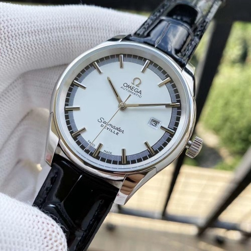 Replica OMEGA AAA Quality Watches In 40*12mm For Men #787327 $177.51 USD for Wholesale