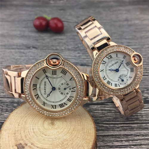 Cartier Couple Watches #787365